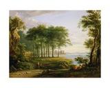 Conway Castle Giclée-Druck von John Varley