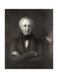 William Wordsworth, Engraved by John Cochran (Fl.1821-65), from 'National Portrait Gallery,… Giclee Print by William Boxall