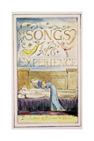 Title Page to Songs of Experience: Plate 30 from Songs of Innocence and of Experience C.1802-08 Giclee Print by William Blake