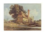 Riverside Cottage Giclee Print by Miles Edmund Cotman