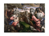 The Adoration of the Magi, C.1568 Giclee Print by Jacopo Bassano