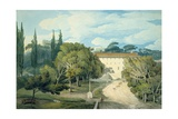 The Convent of St. Eufebio, Near Naples Giclee Print by Francis Towne