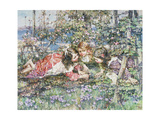 A Summer Idyll Giclee Print by Edward Atkinson Hornel