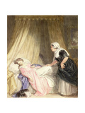 Juliet and Her Nurse Giclee Print by John Massey Wright