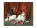 Best of Friends Giclee Print by Eugene Lambert