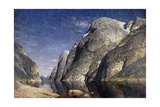 The Sognefjord, Norway, C.1885 Giclee Print by Adelsteen Normann