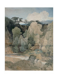 Devil's Elbow, Rokeby Park, C.1806-7 Giclee Print by John Sell Cotman