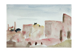 Corfe Castle Giclee Print by Philip Wilson Steer