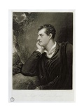 George Gordon, 6th Lord Byron (1788-1824), Engraved by Charles Turner (1773-1857), 1815 Giclee Print by Richard Westall