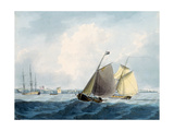 Shipping Off Cromer, Norfolk Giclee Print by William Anderson