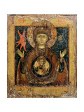 The Mother of God of the Sign, Icon, Late 17th Century Giclee Print