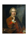 Self Portrait, 1742 Giclee Print by Arthur Devis
