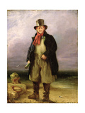 The Old Pilot, 1837 Giclee Print by Henry Perlee Parker