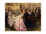 The Dinner Party Giclee Print by Sir Henry Cole