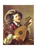 The Lute Player, 1624 Giclee Print by Hendrick Terbrugghen