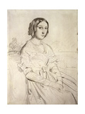 Portrait of a Young Woman, 1841 Giclee Print by Theodore Chasseriau