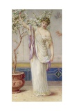 Flora, 1873 Giclee Print by Augustus Jules Bouvier