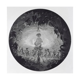 Puck and the Fairies, Engraved by William Home Lizars (1788-1859) Giclee Print by Richard Dadd