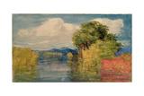Landscape Giclee Print by John Joseph Cotman