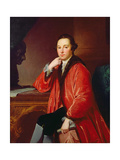 Portrait of Rev. William Strickland Giclee Print by George Romney