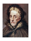 Man Giclee Print by  El Greco