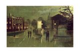 Night Scene, Royal Spa Giclee Print by Wilfred Jenkins
