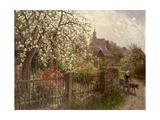 Apple Blossom Giclee Print by Alfred Muhlig