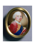 Portrait Miniature of Frederick Louis, Prince of Wales, 1755 Giclee Print by Gaetano Manini