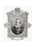 Henri IV, Engraved by Pannemaker-Ligny, from 'Histoire De La Revolution Francaise' by Louis Blanc… Giclee Print by Hercule Catenacci