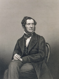 William Ewart Gladstone (1809-98), Engraved by D.J. Pound after a Photograph Photographic Print by John Jabez Edwin Paisley Mayall