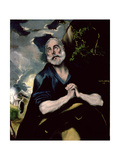 The Tears of St. Peter Giclee Print by  El Greco