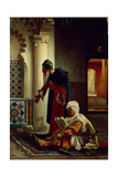 Arabs at Prayer Giclee Print by Jean Jules Antoine Lecomte du Nouy