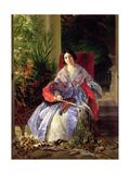 Portrait of the Princess Elizavetta Pavlovna Saltykova (1802-63) 1841 Giclee Print by Karl Pavlovich Bryullov