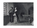 Sir Thomas More (1478-1535) Engraved by Outrim Giclee Print by John Rogers Herbert