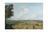 View of Preston from Penwortham Hill, C.1821 Giclee Print by John Jenkinson