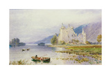 Kilchurn Castle Giclee Print by Myles Birket Foster