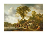 A Ford, C.1648-49 Giclee Print by Isack van Ostade