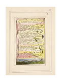 Earth's Answer: Plate 32 from Songs of Innocence and of Experience C.1802-08 Giclée-Druck von William Blake
