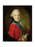 Portrait of Pavel Petrovich (1754-1801) 1761 Giclee Print by Fedor Stepanovich Rokotov