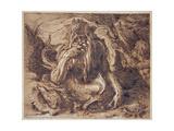 Neptune, 1610 Giclee Print by Jacques II de Gheyn