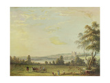 View of Rochester Giclee Print by Paul Sandby
