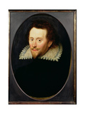 Portrait of a Man, Called William Cavendish, Duke of Newcastle (1592-1676) C.1619 Giclee Print by William Larkin