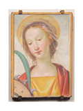 St. Catherine Giclée-tryk af Fra Bartolommeo
