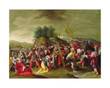 Christ on the Road to Calvary, 17th Century Giclee Print by Hieronymous III Francken