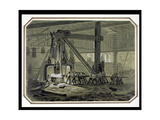 The Steam Hammer Giclee Print by William Mcconnell