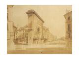 Porte St Denis, Paris Giclee Print by Thomas Girtin
