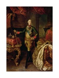 Portrait of Tsar Peter III (1728-62) 1762 Giclee Print by Alexei Petrovich Antropov