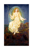 Lux in Tenebris, 1895 Giclee Print by Evelyn De Morgan