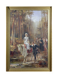 Priscilla, the Courtship of Miles Standish, 1885 Giclee Print by Laslett John Pott