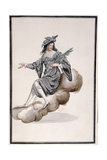 Costume for 'Night' for the 'Ballet De La Nuit' by Jean-Baptise Lully (1632-87) Danced by Louis… Giclee Print